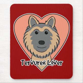 Tervuren Lover Mouse Pad