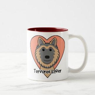 Tervuren Lover Two-Tone Coffee Mug