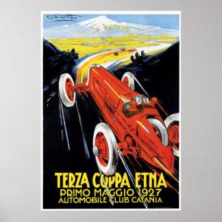 Terza Coppa el Etna Poster