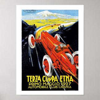 Terza Coppa el Etna Póster