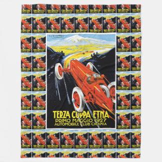 Terza Coppa Etna Fleece Blanket