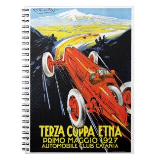 Terza Coppa Etna Notebook
