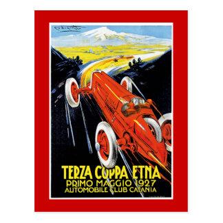 Terza Coppa Etna Postcard