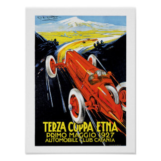 Terza Coppa Etna Poster