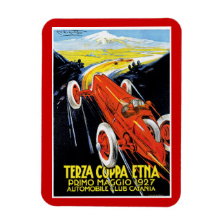 Terza Coppa Etna Rectangular Photo Magnet