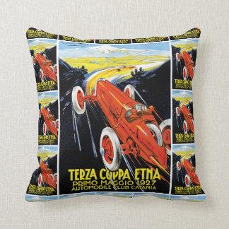 Terza Coppa Etna Throw Pillow
