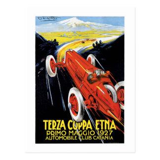 Terza Cuppa Etna 1927 Postcard