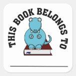 Tesauro: El dinosaurio ese amores para leer los Colcomanias Cuadradas