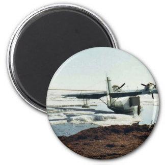 Teshekpuk Lake, Sea Plane, and Camp Refrigerator Magnets