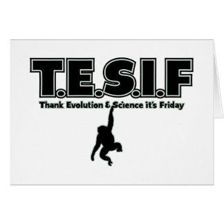 TESIF CARD