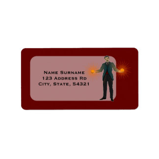 Tesla, address labels