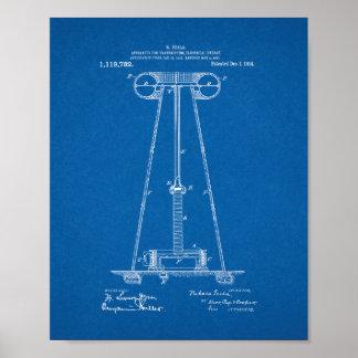 Tesla Apparatus For Transmitting Electrical Energy Print