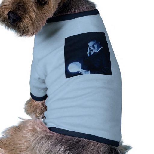 tesla camiseta con mangas para perro