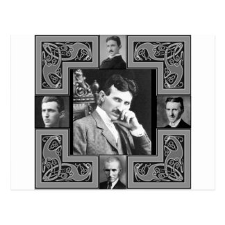 Tesla Coil Postcard