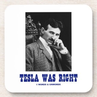 Tesla correcto (Nikola Tesla) Posavasos