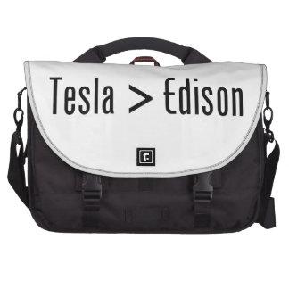 Tesla > Edison Bolsa De Ordenador