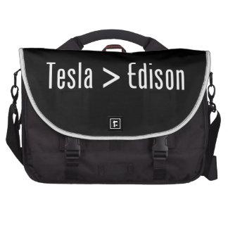 Tesla > Edison Bolsas De Portatil