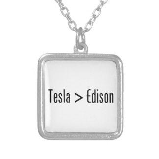 Tesla > Edison Colgante Cuadrado