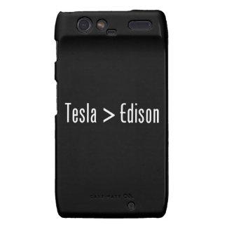 Tesla > Edison Droid RAZR Carcasas