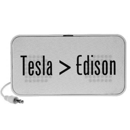 Tesla > Edison iPhone Speakers