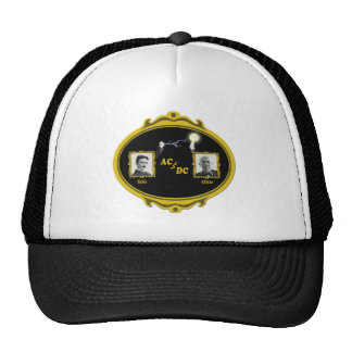 Tesla Edison Photo Trucker Hat