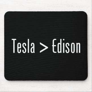 Tesla > Edison Tapetes De Raton