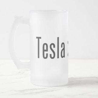 Tesla > Edison Taza De Cristal