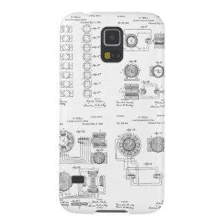 Tesla Elecro-Magnet Motor Patent US381968 p 1-4 Case For Galaxy S5