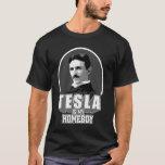 Tesla es mi camisa   del ateo del Homeboy