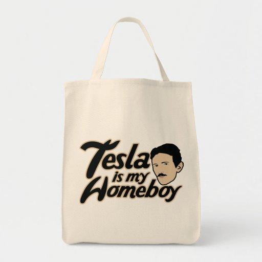 Tesla es mi Homeboy Bolsas