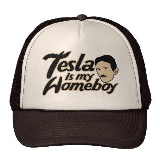 Tesla es mi Homeboy Gorro De Camionero