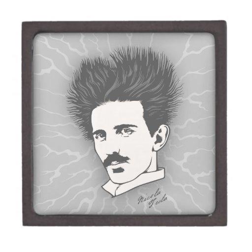 Tesla estático cajas de joyas de calidad
