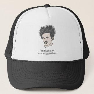 Tesla -Horror Trucker Hat