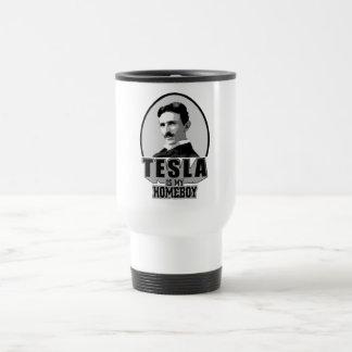 Tesla Is My Homeboy Coffee Mugs