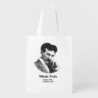 Tesla joven bolsas de la compra