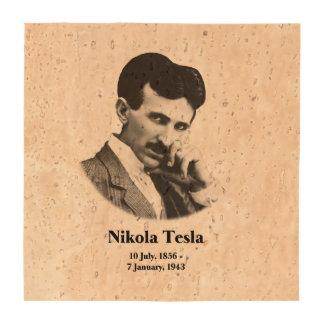 Tesla joven posavasos