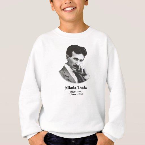 Tesla joven sudadera