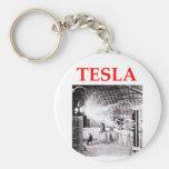 tesla key chain