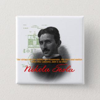 Tesla Pinback Button