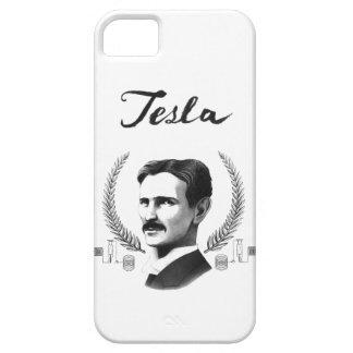 Tesla Portrait iPhone Case