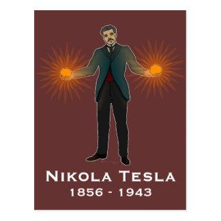 Tesla, postcard