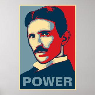 Tesla Power Poster