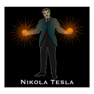 Tesla, print
