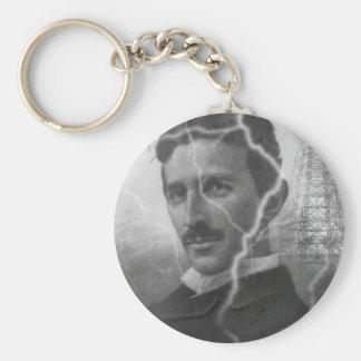 Tesla, The Lightning Man Keychain