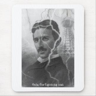 Tesla, The Lightning Man Mouse Pad