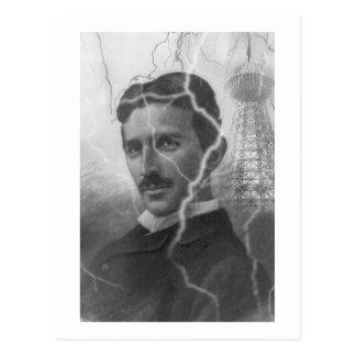 Tesla, The Lightning Man Postcard