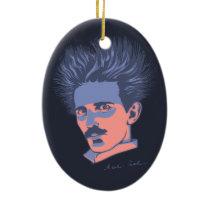 Tesla UL Ceramic Ornament
