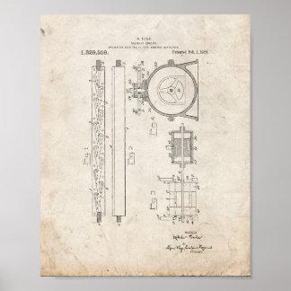 Tesla Valvular Conduit Patent - Old Look Print