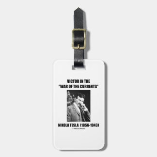 Tesla Victor In The War Of The Currents Physics Bag Tag