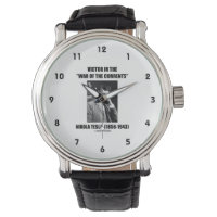 Tesla Victor In the War Of The Currents Physics Wrist Watch